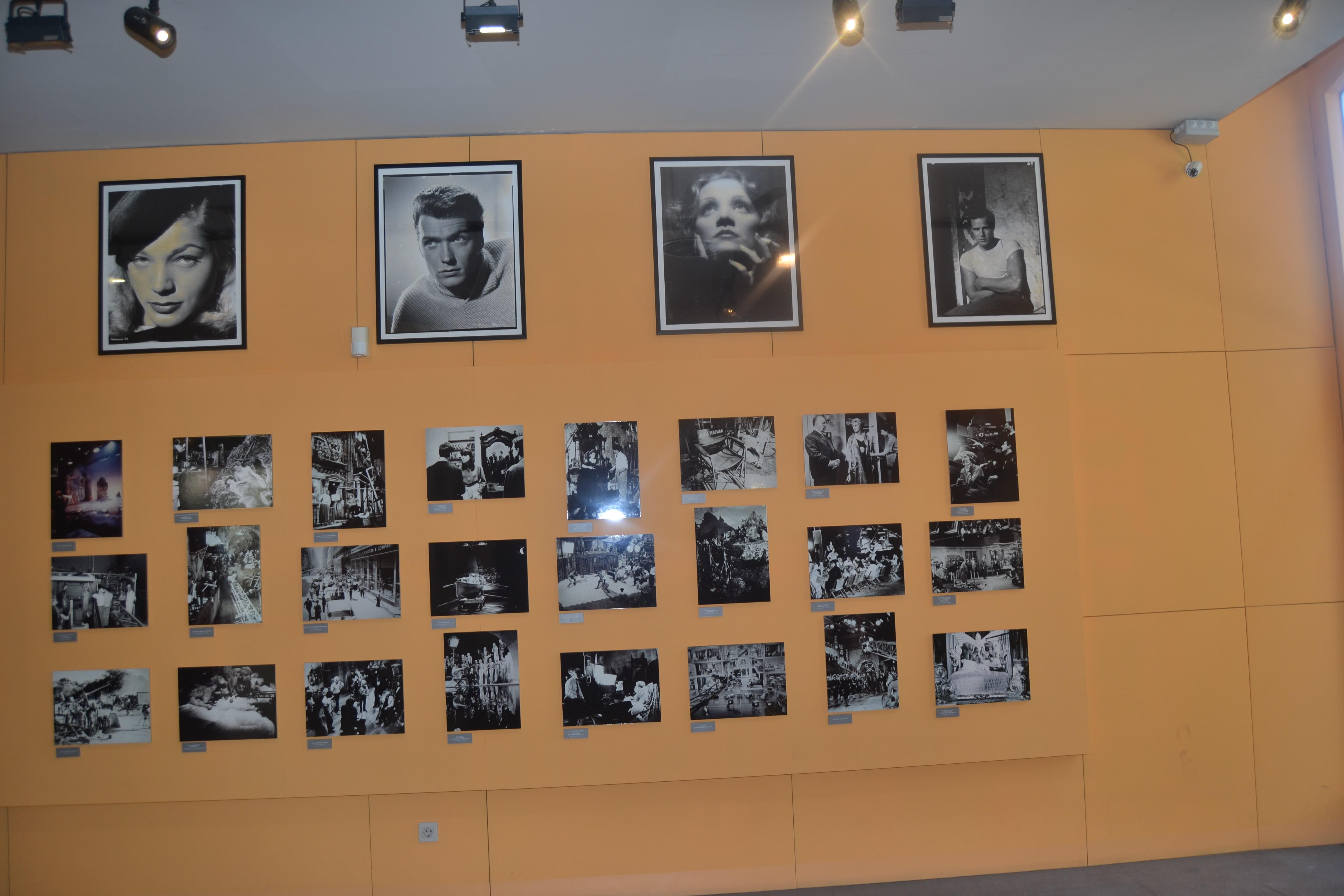 Fotos d'actors en el Museu del Cinema de  Girona