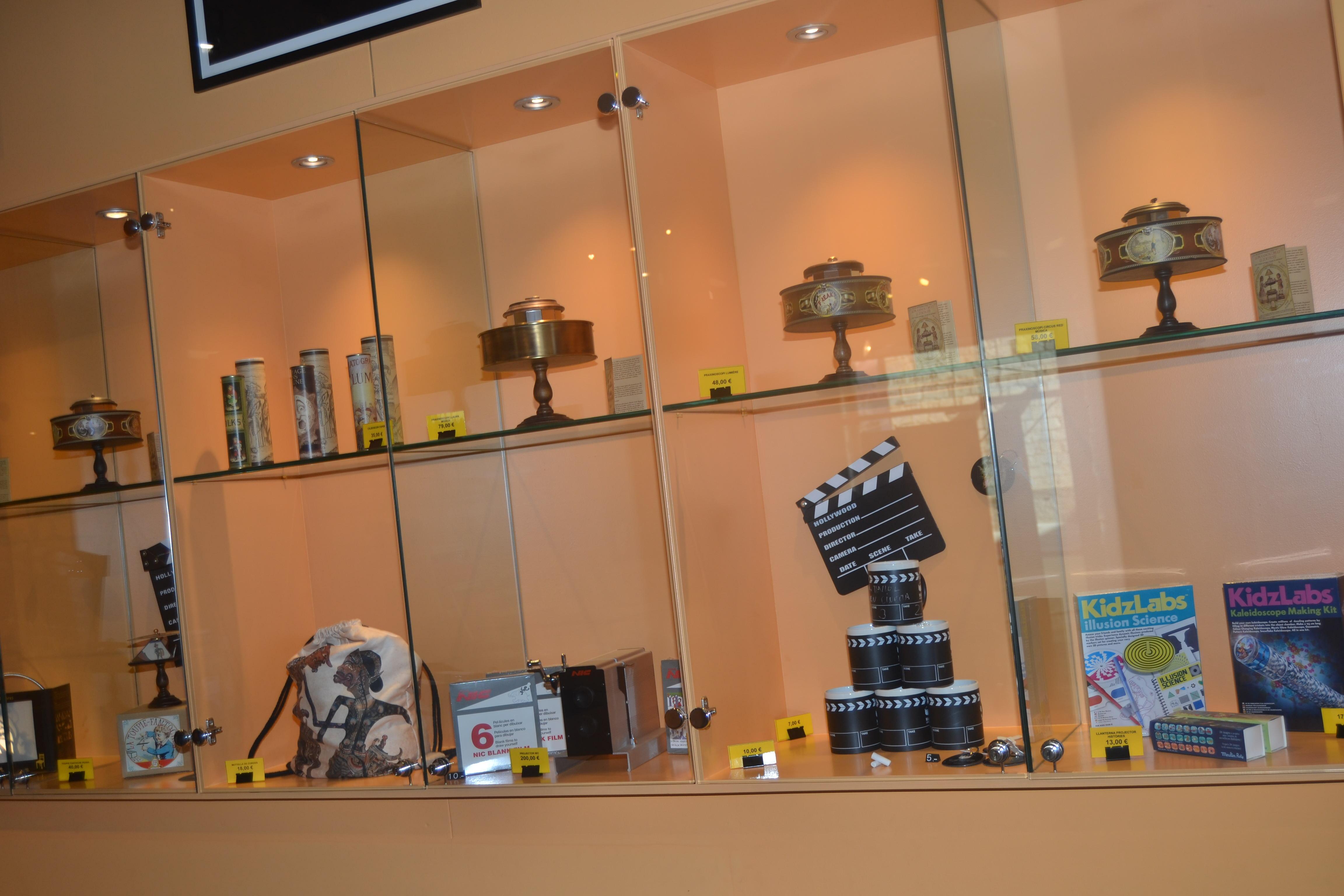Objectes del Museu del Cinema de Girona